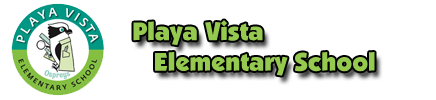 Playa Vista Elementary School  Logo